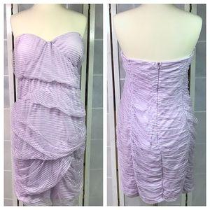 💥 Fashion Nova lavender strapless dress 3X
